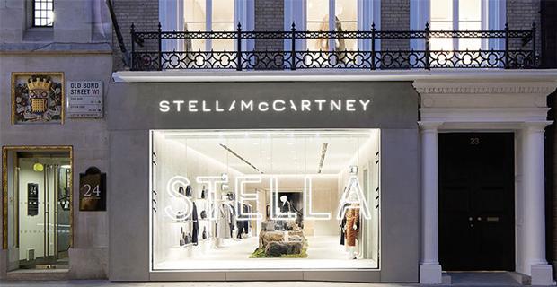 Il negozio di Stella McCartney a Londra.