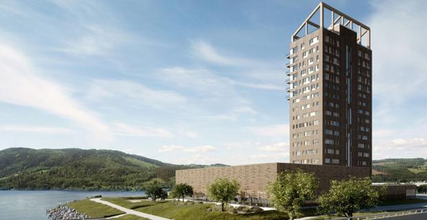 In Norvegia l'edificio in legno più alto del mondo.