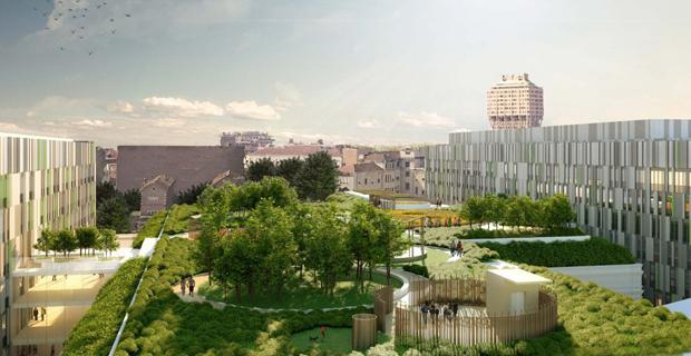 Il progetto di Stefano Boeri del Policlinico di Milano.