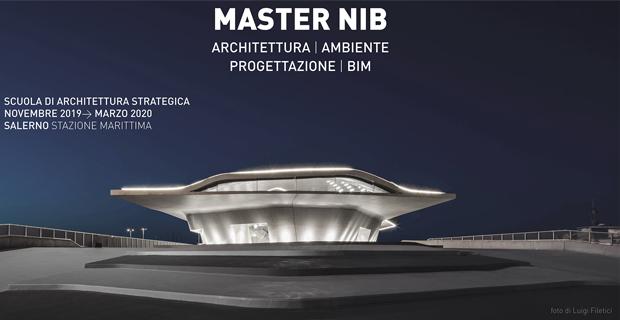 I master di New Italian Blood in Architettura e Bim.