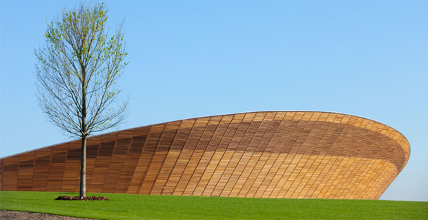 Il velodromo Londra 2012 di Hopkins Architects.