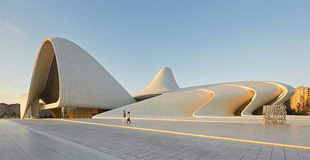 Heydar Aliyev Centre di Zaha Hadid architects