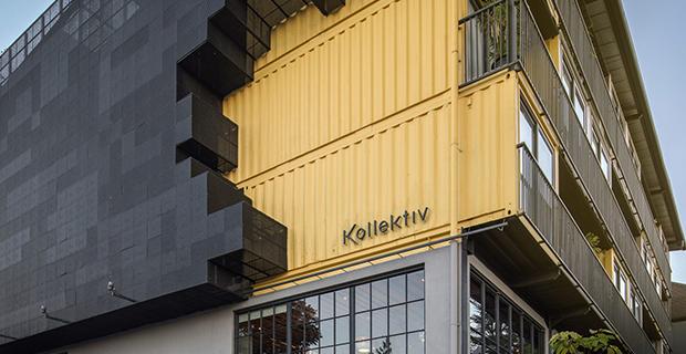 architettura container kollektiv hotel