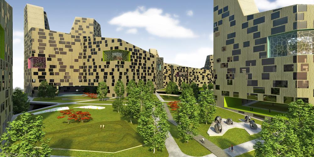 Architettura sostenibile in lettonia. un team italiano con il progetto