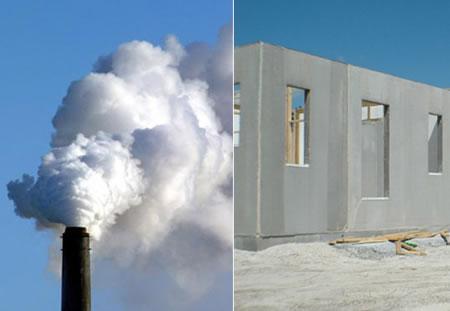 Il cemento sostenibile che assorbe la co2 compensando le for Responsabile produzione arredamento